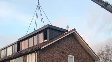 Dakalux dakkapel in 1 dag geplaatst