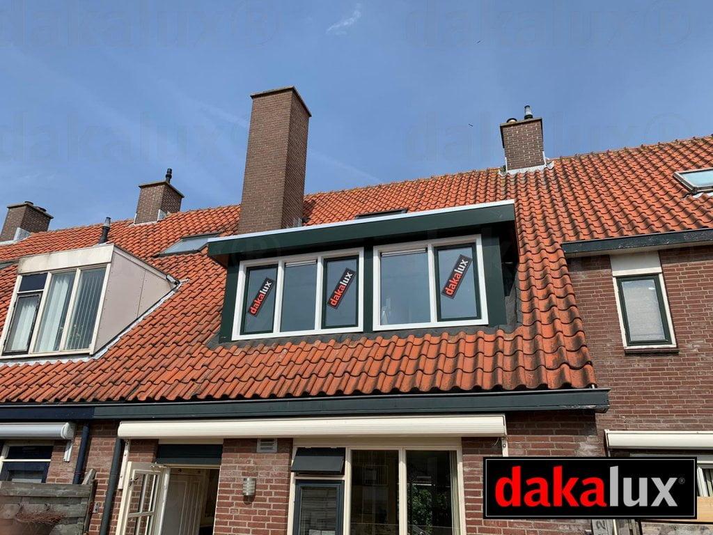 dakalux dakkapel achterkant huis prefab plat dak